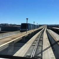 Photo taken at SFO AirTrain Station - Garage A by Paul B. on 9/5/2013