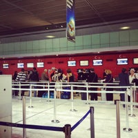 Photo taken at Aéroport Toulouse-Blagnac (TLS) by Дмитрий Ш. on 10/7/2012