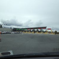 Photo taken at Peace Arch Border Crossing by Telina H. on 10/20/2012
