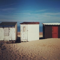 Photo taken at Blériot Plage by Moonsieur P. on 12/31/2013