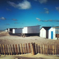 Photo taken at Blériot Plage by Moonsieur P. on 11/12/2013