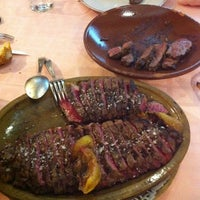 Photo taken at Asador Donostiarra by Carlos M. on 11/21/2012