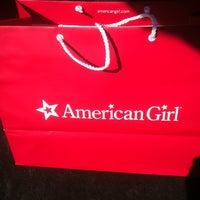 Photo taken at American Girl Boutique & Bistro by john on 12/14/2012