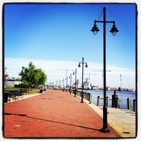 Photo taken at Town Point Park by Stephanie Y. on 4/25/2013