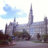 Photo taken at Georgetown University by Chris R. on 5/5/2013