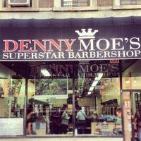 Photo taken at Denny Moe's Superstar Barbershop by Marc L. on 8/10/2013