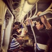 Photo taken at MTA Subway - Manhattan Bridge (B/D/N/Q) by Marc L. on 3/14/2013
