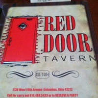 Photo taken at Red Door Tavern by Stephanie G. on 3/1/2013