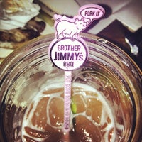 Photo taken at Brother Jimmy's BBQ by Ago D. on 4/27/2013