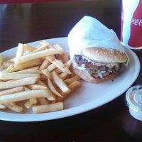 Photo taken at Jim's Burgers by John A. on 9/10/2013