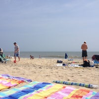 Photo taken at 76th Street Beach by Lauri C. on 9/1/2013
