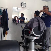 Photo taken at Barbearia Passinho by Thais N. on 12/21/2013