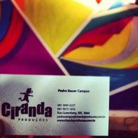 Photo taken at Ciranda Produções by Edgar Pereira dos S. on 10/25/2012