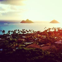 Photo taken at Lanikai Pillboxes Hike by Jairus K. on 1/20/2013