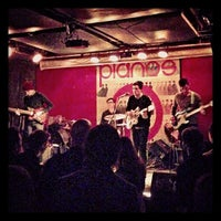 Photo taken at Pianos by Chelsea Mae H. on 3/2/2013