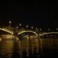 Photo taken at Liberty Bridge by Victor G. on 5/13/2013
