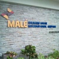 Photo taken at Ibrahim Nasir International Airport (MLE) by Yaamean S. on 9/20/2012