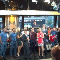 Photo taken at Good Morning America Studios by Olly Murs on 9/28/2012