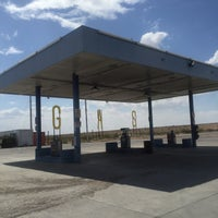 Photo taken at Gas Station In The Middle Of The Dessert by Ksenia S. on 6/10/2015