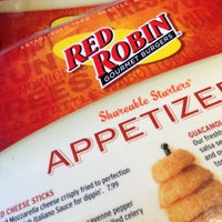 Photo taken at Red Robin Gourmet Burgers by David G. on 4/21/2013