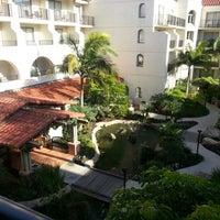 Photo taken at Hyatt Regency Huntington Beach Resort and Spa by Jackie D. on 12/15/2012