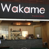 Photo taken at Wakame by Aly N. on 3/28/2013