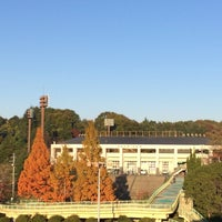 Photo taken at 鴻ノ池球場 by T K. on 11/22/2013