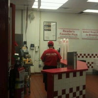 Photo taken at Five Guys by Michael P. on 9/26/2012