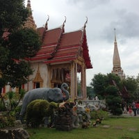 Photo taken at วัดไชยธาราราม (วัดฉลอง) Wat Chalong by Ketter C. on 11/11/2012