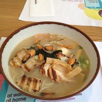 Photo taken at Wagamama by Ladislav B. on 4/8/2013