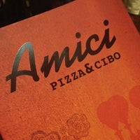 Photo taken at Amici Pizza & Cibo by Fabricio L. on 1/26/2013