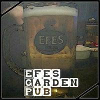 Photo taken at Efes Garden Pub by Selim A. on 1/5/2013