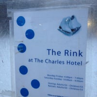 Photo taken at Charles Hotel Rink by Eric A. on 12/2/2012