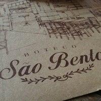 Photo taken at Boteco São Bento by Eric A. on 7/21/2013