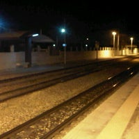 Photo taken at Gare Tahar Sfar by Marwen T. on 11/3/2012
