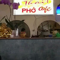 Photo taken at Thai #1 & Pho by J W. on 3/15/2013