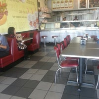 Photo taken at Fatburger by tony m. on 4/28/2013
