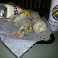 Photo taken at Tropical Smoothie Cafe by Andrea Y. on 11/8/2012