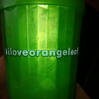 Photo taken at Orange Leaf Frozen Yogurt by Lauren on 9/26/2012