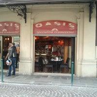 Photo taken at Bar Oasis Cafè by Daniele L. on 10/20/2012