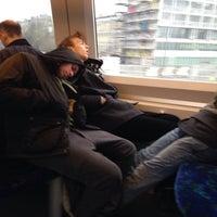 Photo taken at Linje H (Farum - Frederikssund) by Ditte O. on 2/24/2015