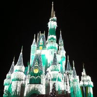 Photo taken at Cinderella Castle by artemisrex on 12/31/2012