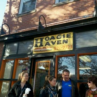 Photo taken at Hoagie Haven by Pamitha W. on 11/23/2012