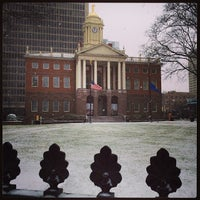 Photo taken at Connecticut's Old State House by Ben T. on 12/14/2013
