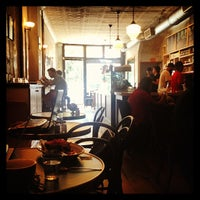 Photo taken at Cafe Madeline by Katie S. on 7/27/2013