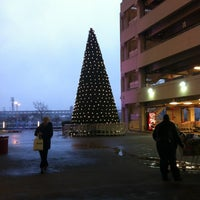 Photo taken at East River Plaza by Justin M. on 12/17/2012