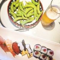 Photo taken at Sushi Masu by Kim on 8/9/2014