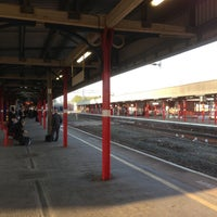 Photo taken at Stockport Railway Station (SPT) by Alex F. on 5/7/2013