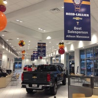 Photo taken at Reed-Lallier Chevrolet by Terry M. on 11/1/2014