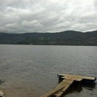 Photo taken at Embalse de Guatavita by Diego V. on 9/18/2012
